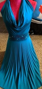 Turquoise/Teal dress